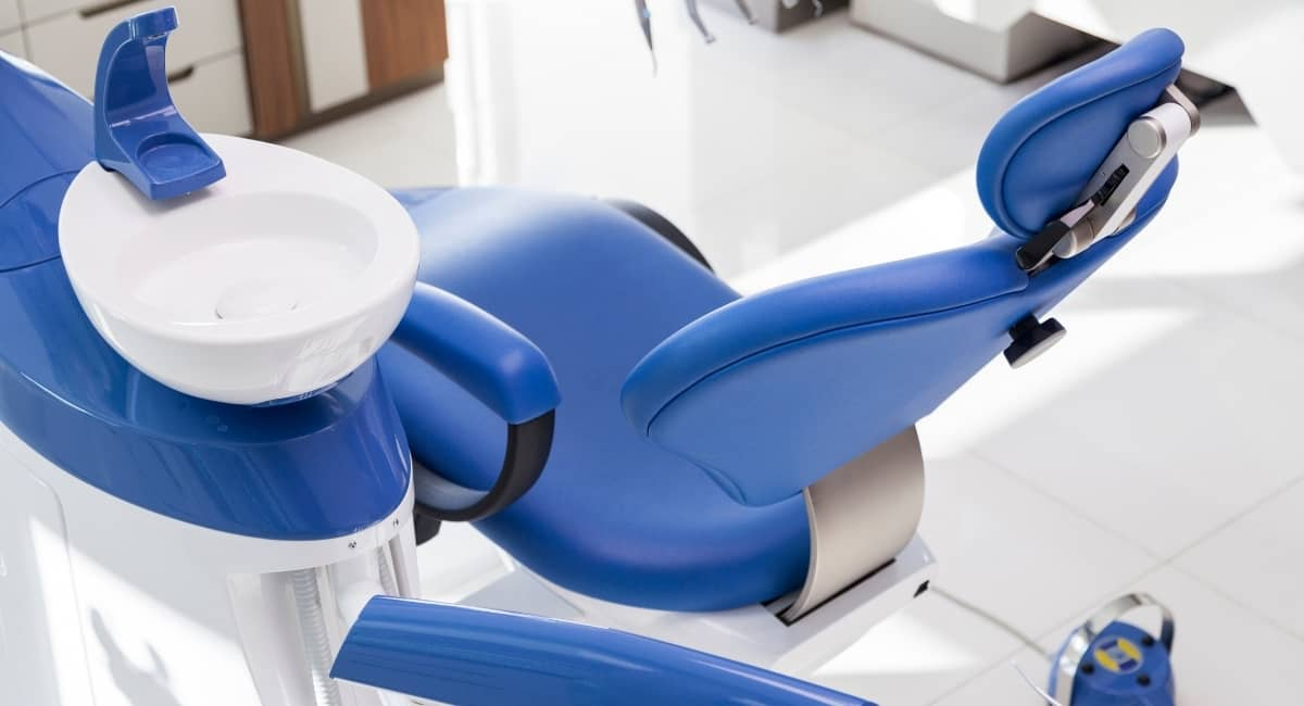 Covid-19 optimized dentist office.
